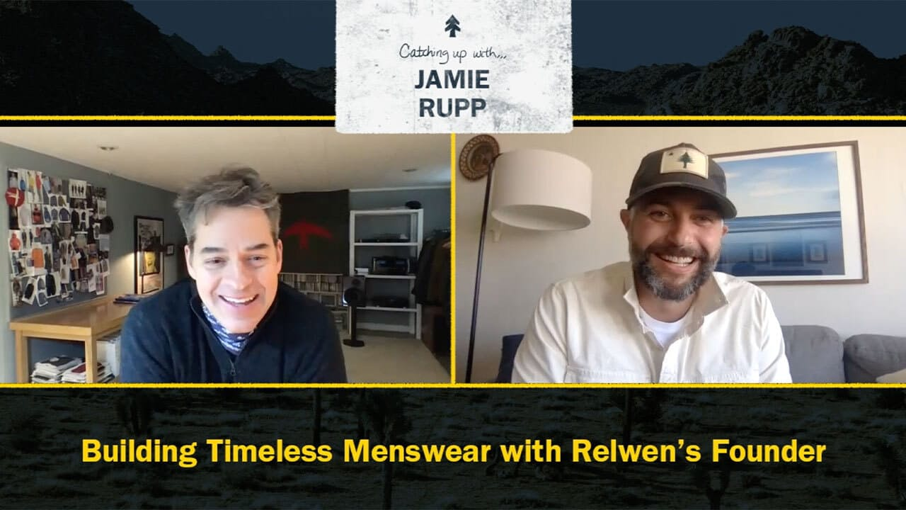 Watch: Building Timeless Menswear with Relwen's Founder