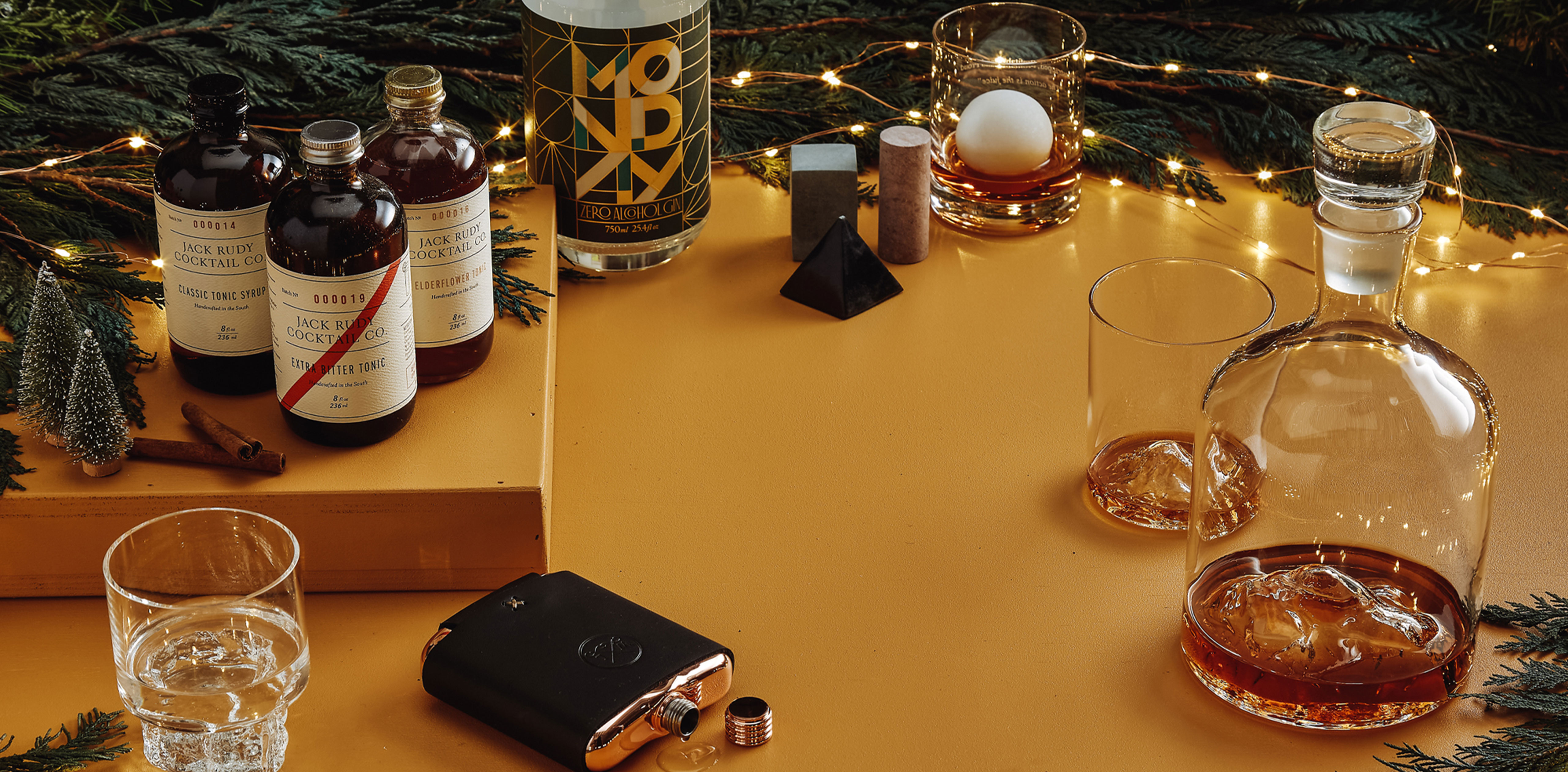 The Apartment Bartender Building A Holiday Bar Cart Huckberry