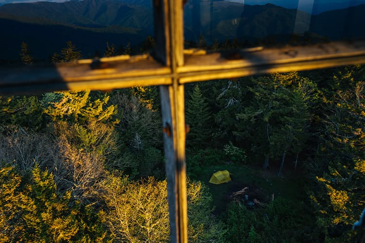 Huckberry great smoky mountain national park insider's guide kyle frost know before you go mt sterling firetower backcountry camping.jpg?ixlib=rails 2.1