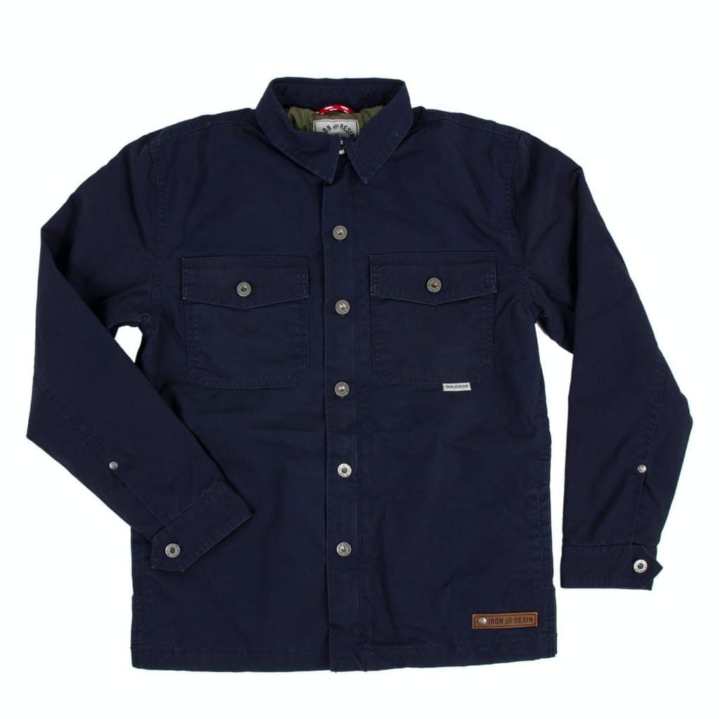 Kz7qjgteyq iron and resin insulated wheeler shirt jacket 0 original