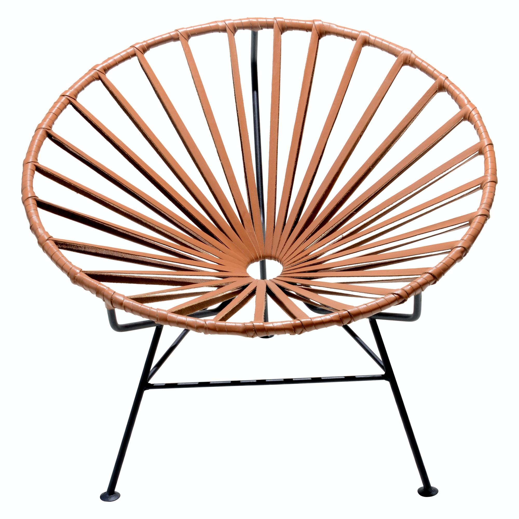 mexa sayulita leather lounge chair - Leather Lounge Chair