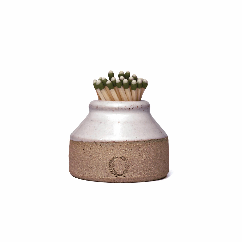 8ncqify6qe farmhouse pottery milk bottle match striker 0 original