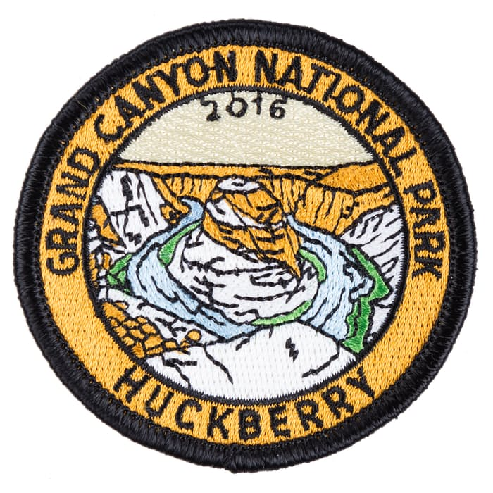 Huckberry Grand Canyon National Park Patch Huckberry