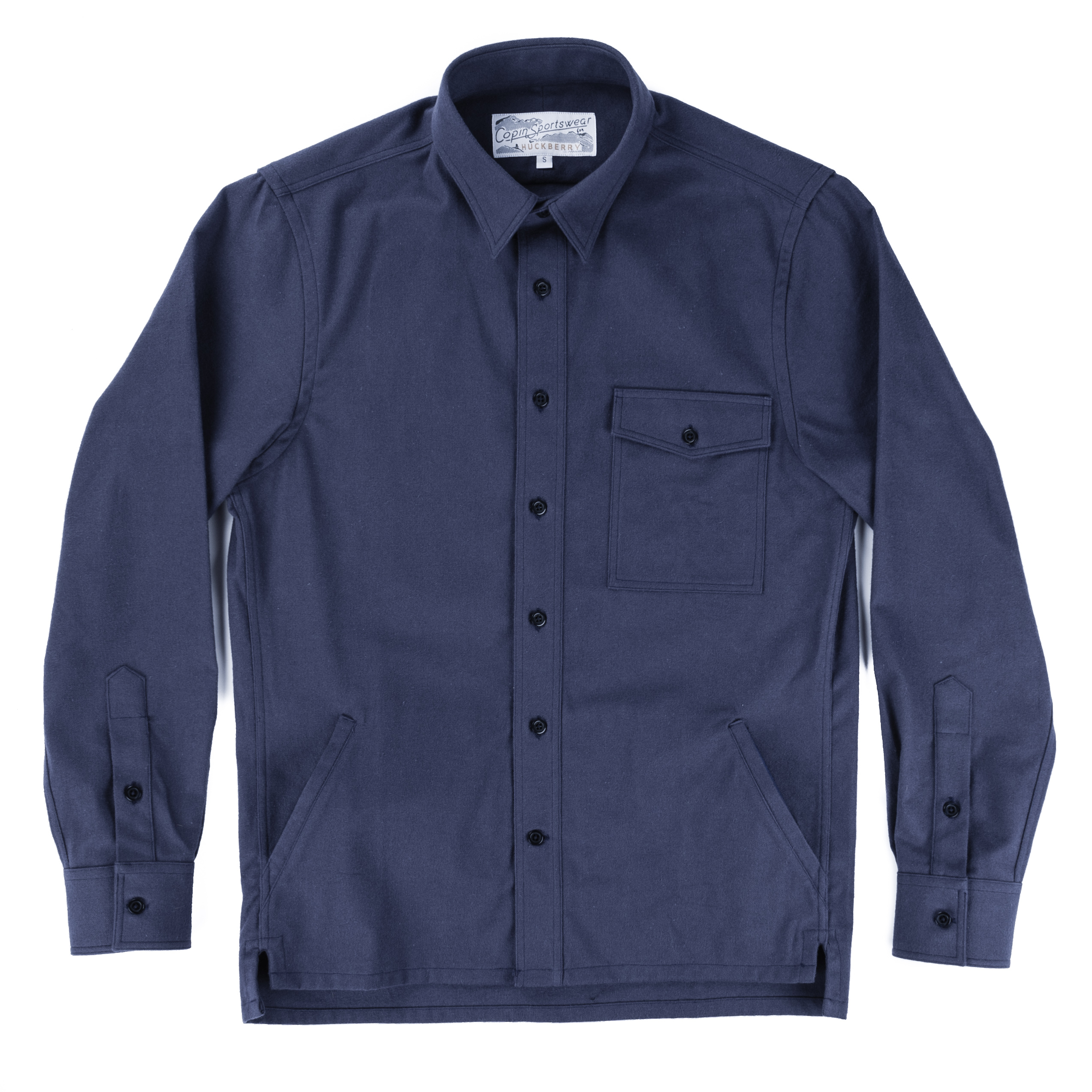 Copin Sportswear Brushed Cotton Shirt Jacket | Huckberry