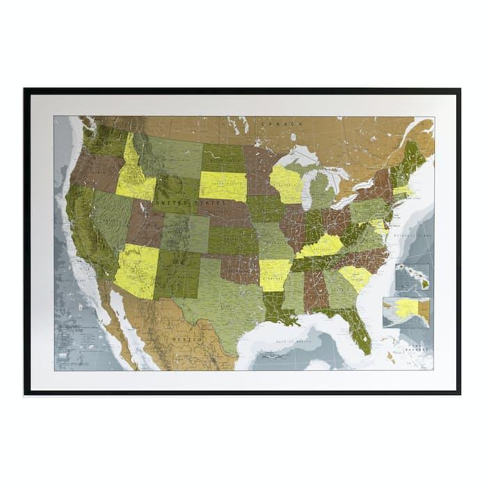 Future Maps Usa Map Huckberry