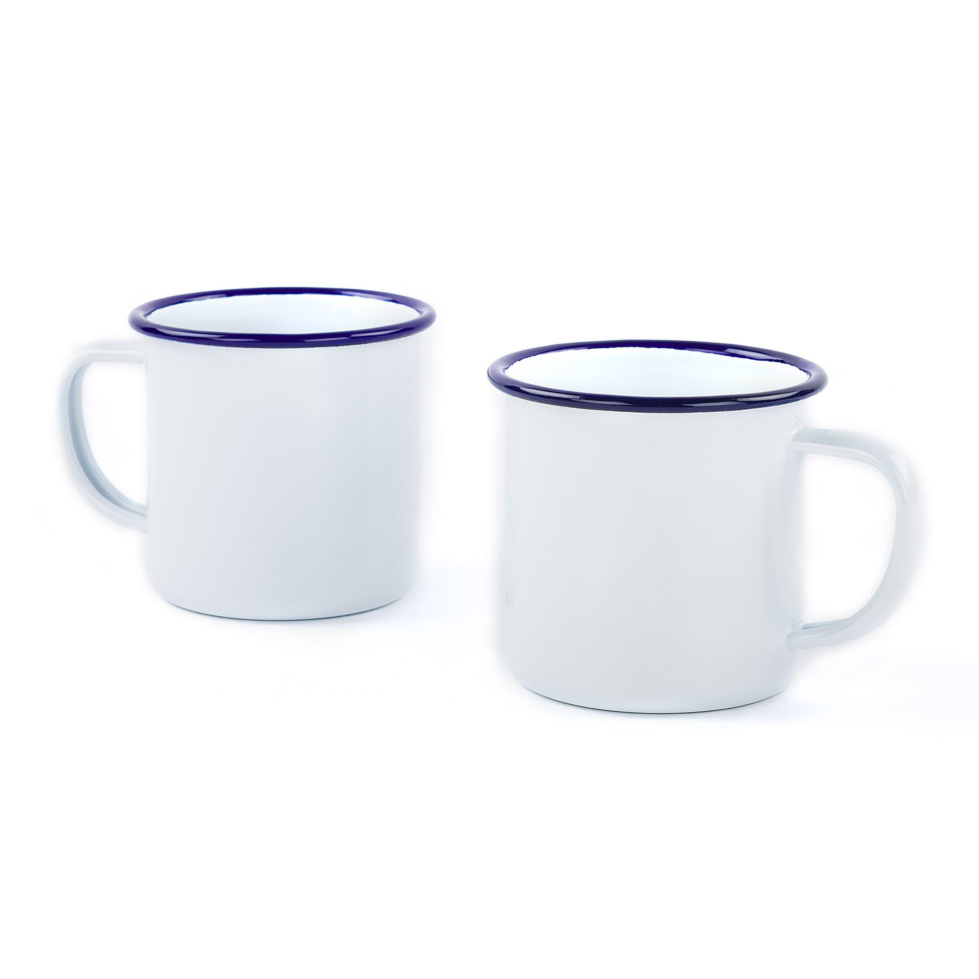 Smmjljlrso falcon enamelware 2 enamel mugs 0 original