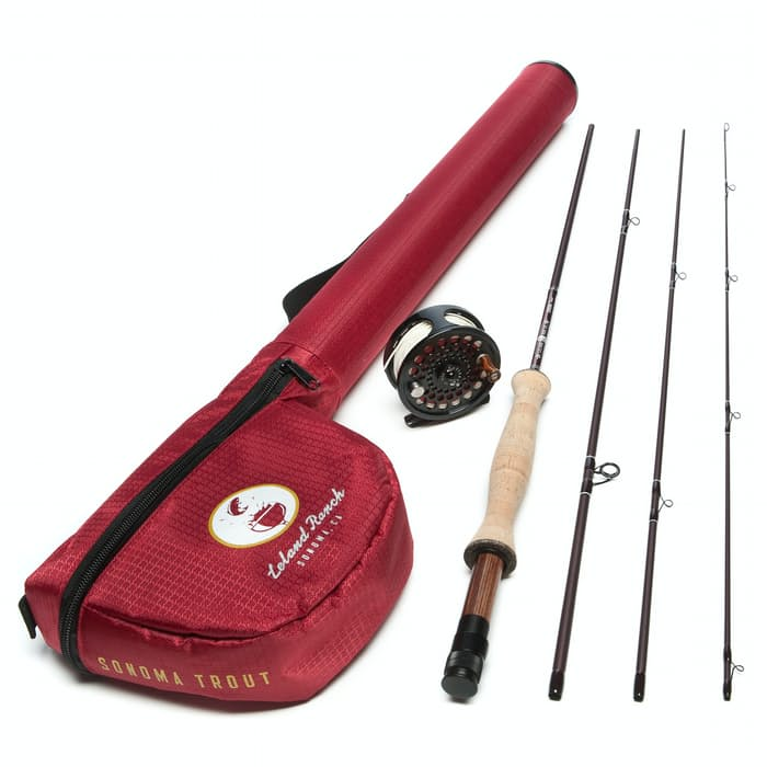Leland rod co sonoma trout fly fishing outfit 8 39 5wt for Leland fly fishing