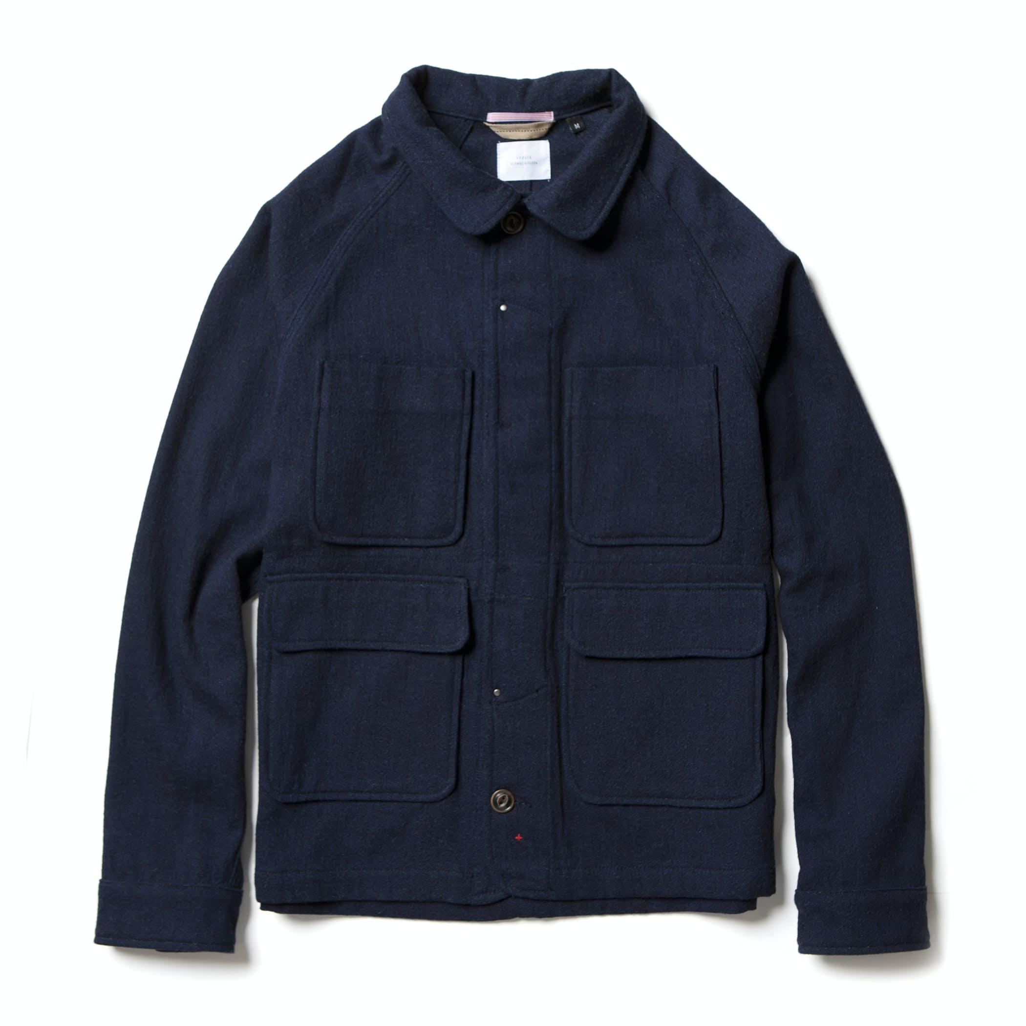 Rveuyogsyb apolis wool chore coat indigo 0 original