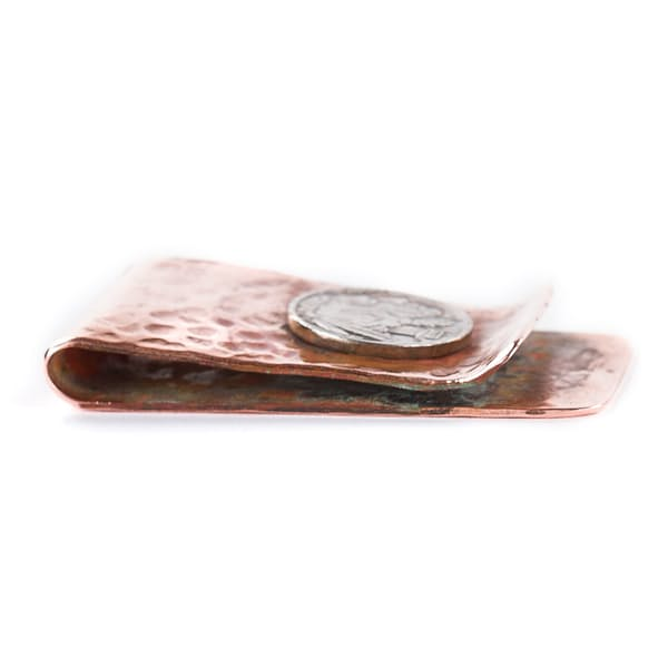 b1297300c350 Jamestown Revival The Buffalo Nickel Money Clip | Huckberry