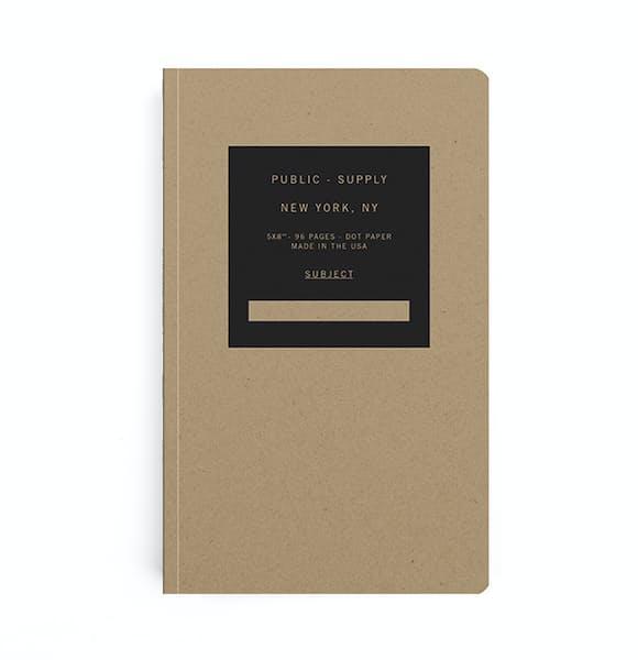 Kraft Notebook- Dotted