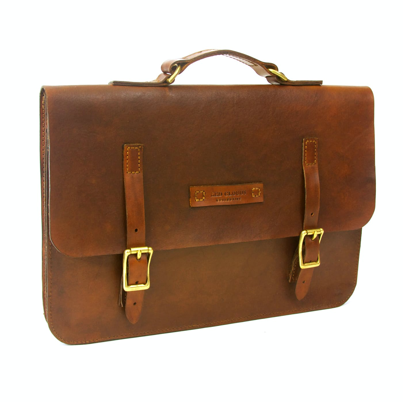 Erlequvxjy red clouds collective leather briefcase 0 original
