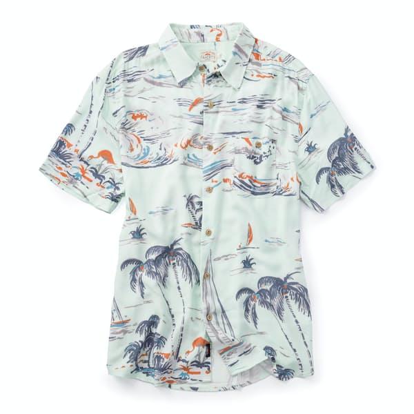 4947c3050407 Faherty Brand SS Rayon Hawaiian Shirt | Huckberry