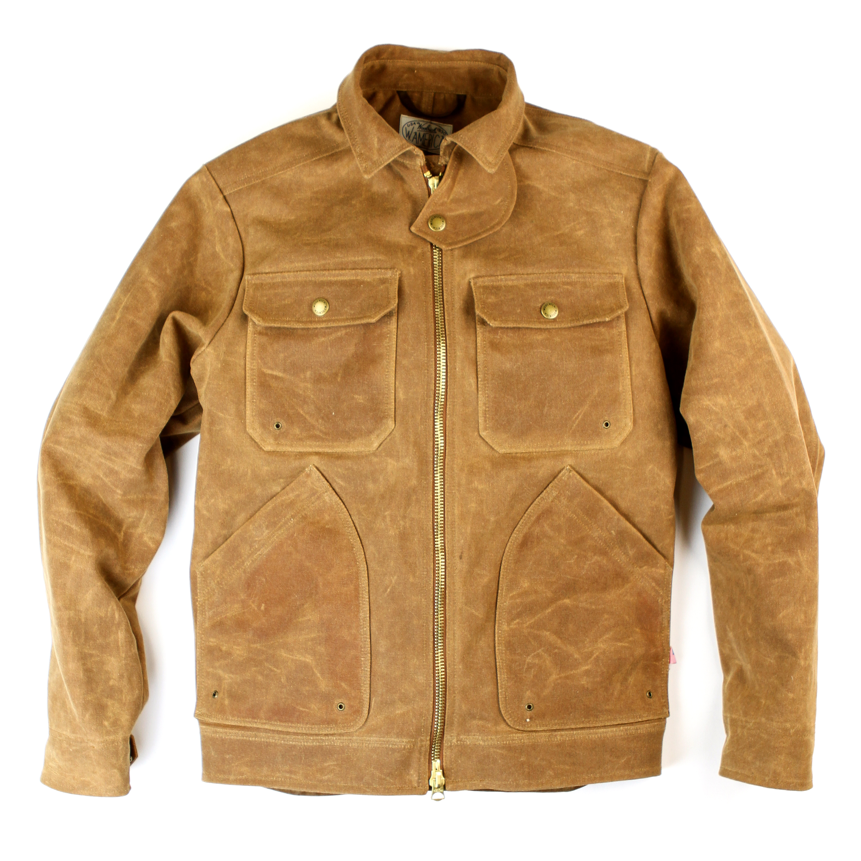 West America X Woolrich Motorcycle Jacket
