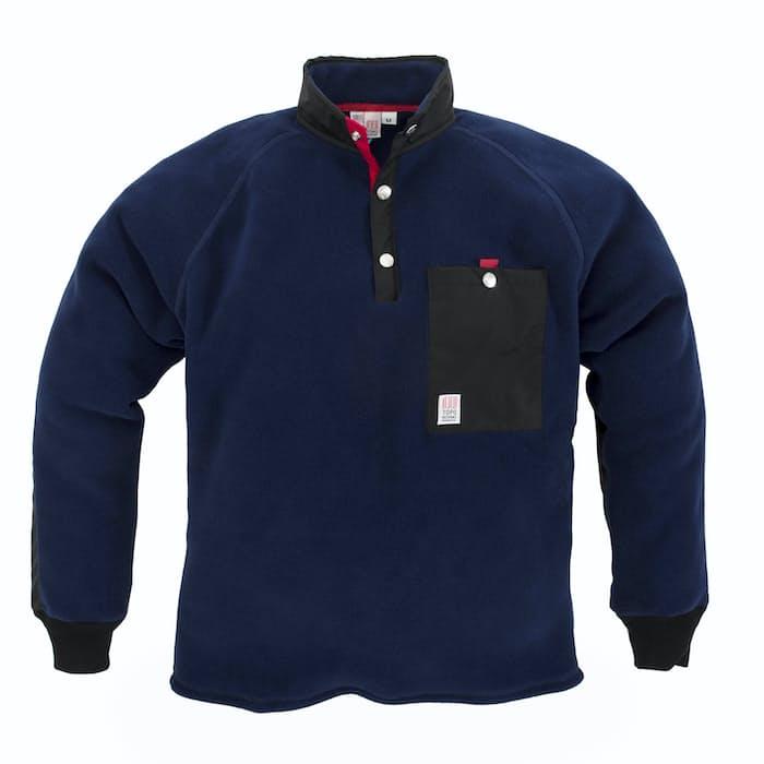 Topo Designs Mountain Fleece Huckberry