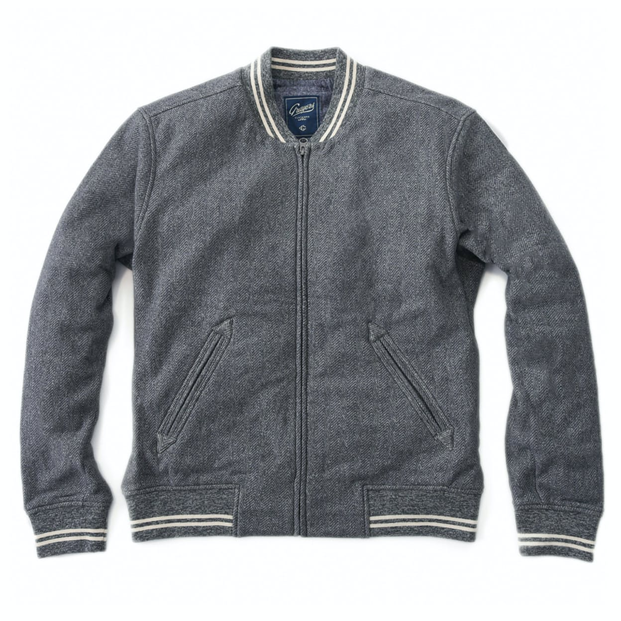 Grayers Russell Baseball Jacket | Huckberry