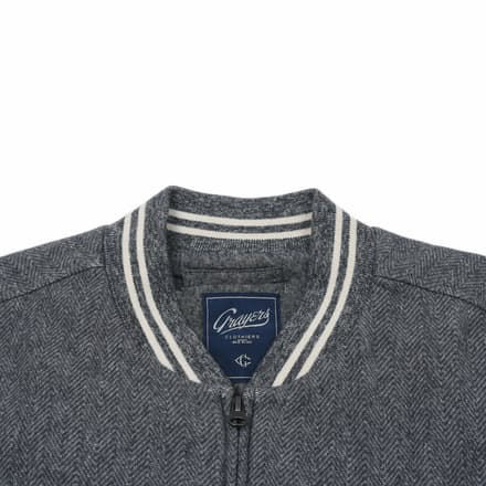 Grayers Russell Baseball Jacket | Huckberry