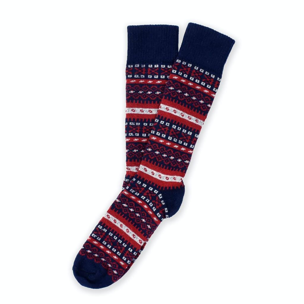 American Trench Fair Isle Sock (Merino & Cashmere) | Huckberry