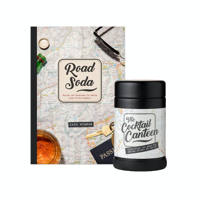Yrb267ta53 w p design road soda book cocktail canteen 0 original