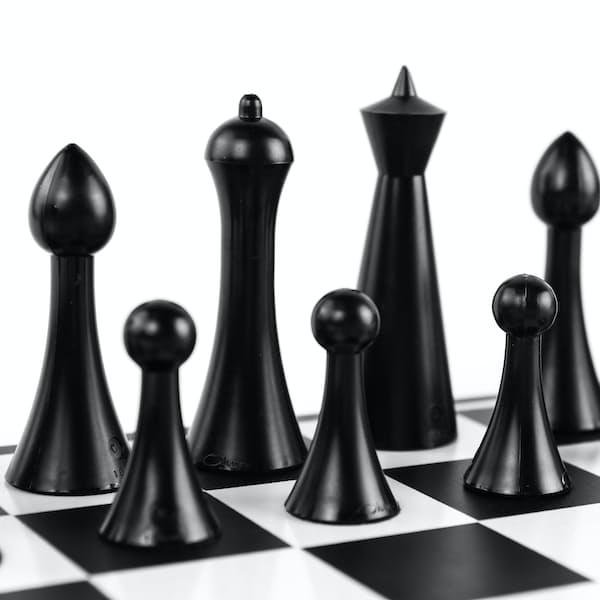 Mid Century Chess Set