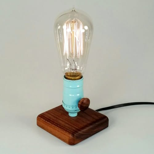 A lamp design the spaceman lamp