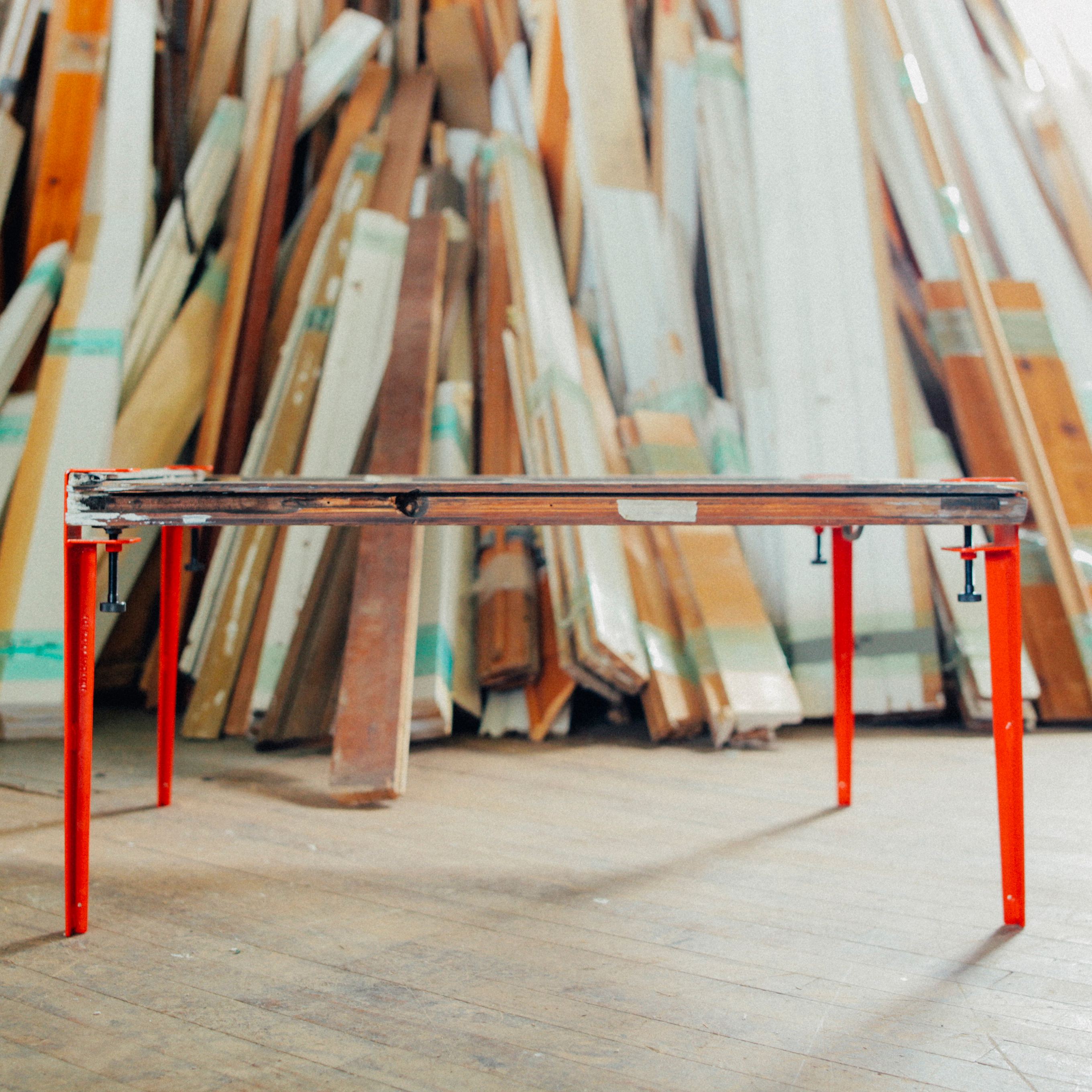 Outstanding The Floyd Leg 16 Red Table Legs Huckberry Onthecornerstone Fun Painted Chair Ideas Images Onthecornerstoneorg