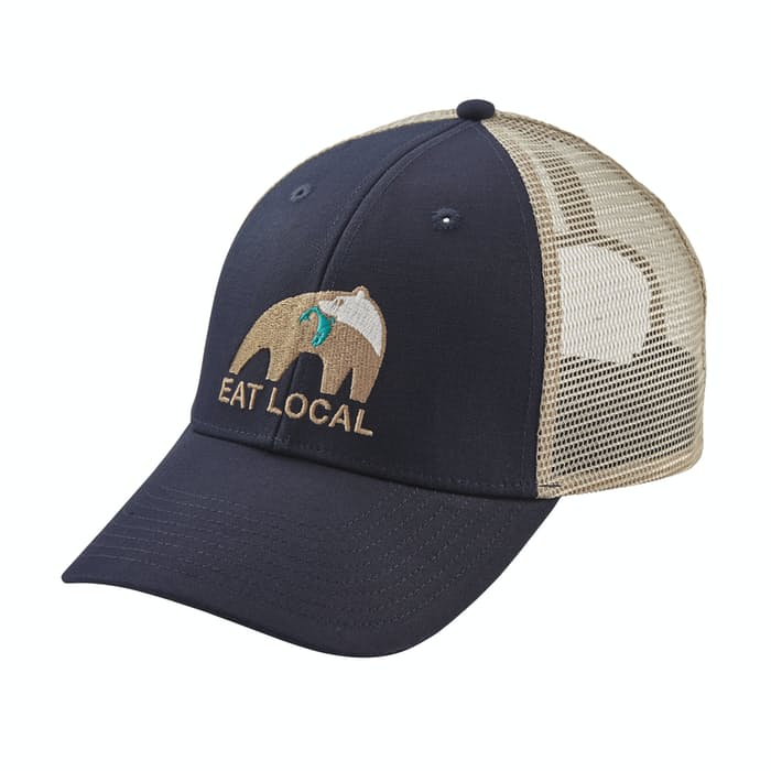 20622fdd469ad Patagonia Eat Local Upstream LoPro Trucker Hat
