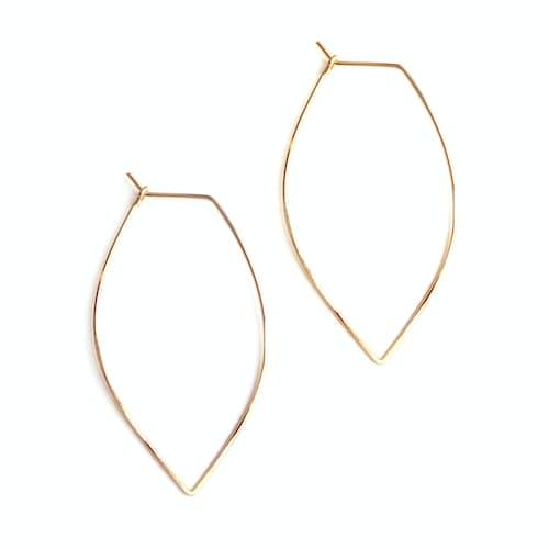 Fv8em9pel9 April Soderstrom Small Leaf Earrings Gold 0 Original