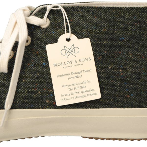 56e2d33017 The Hill-Side Donegal Tweed Chukka Sneakers