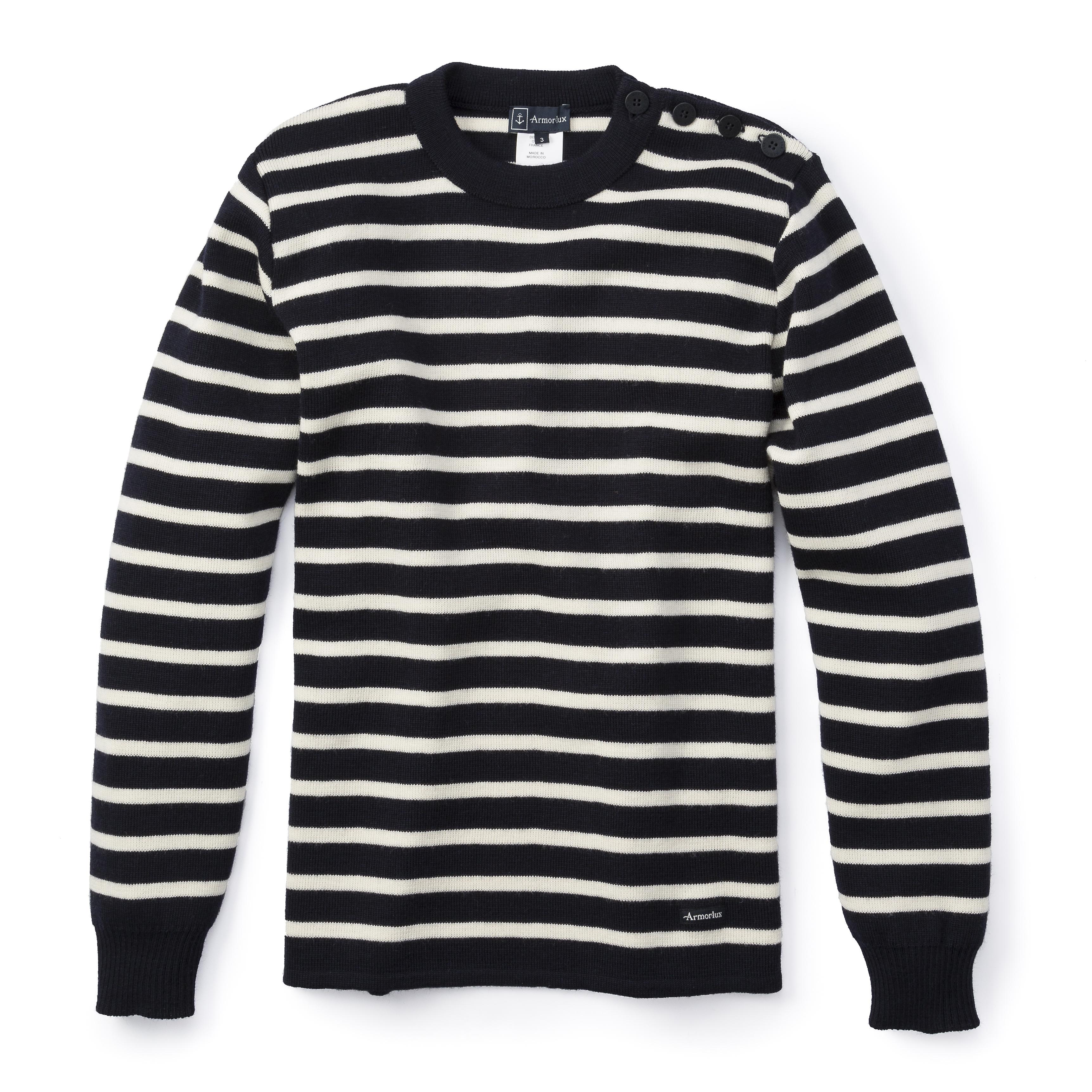 Armor-Lux Wool Striped Sweater | Huckberry