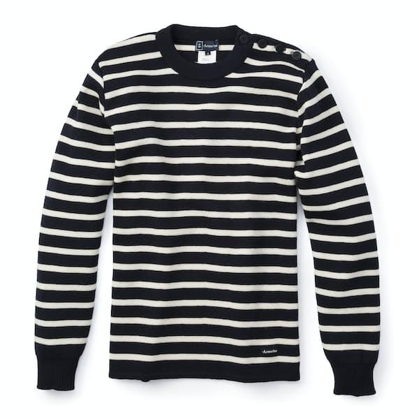 Armor Lux Wool Striped Sweater Huckberry