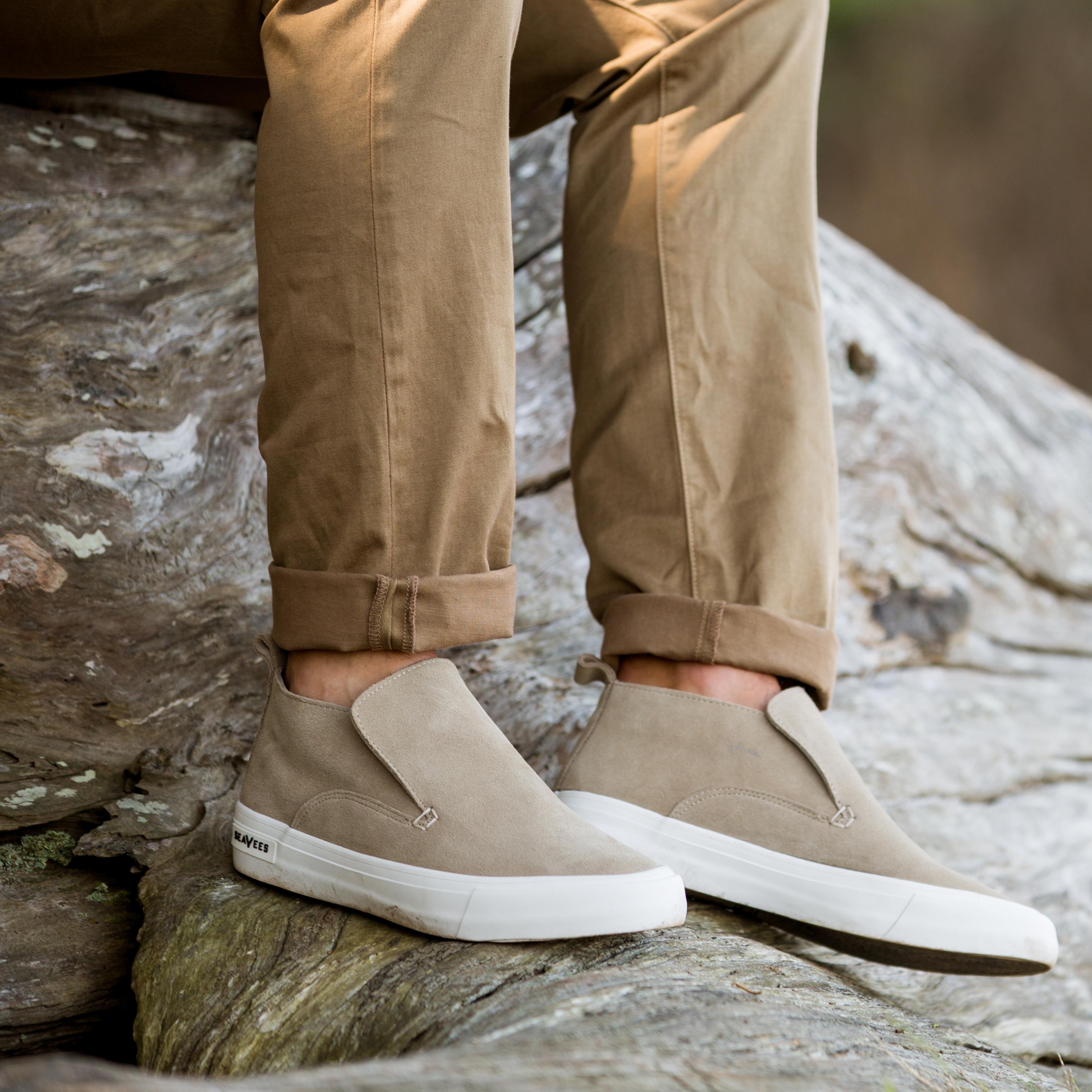 SeaVees Mens Huntington Middie Sneaker