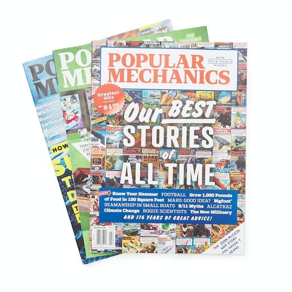 Popular Mechanics Subscription >> Popular Mechanics 1 Year Subscription Huckberry