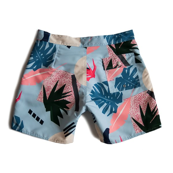 a37c15c64f Bather Trunk Co. Surf Trunk - Abstract Palms | Huckberry