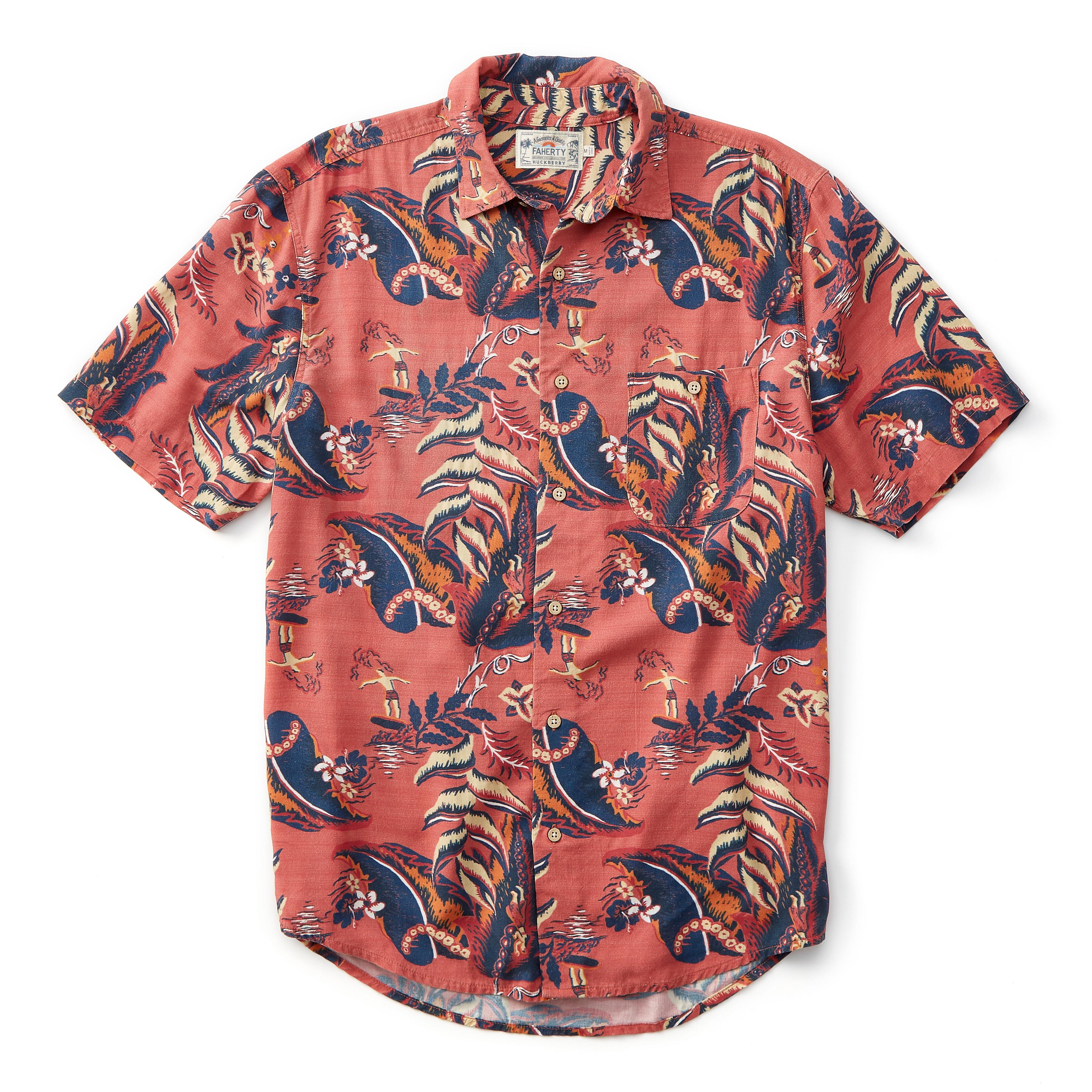 3cb2ec16b Faherty Brand Hawaiian Shirt | Huckberry
