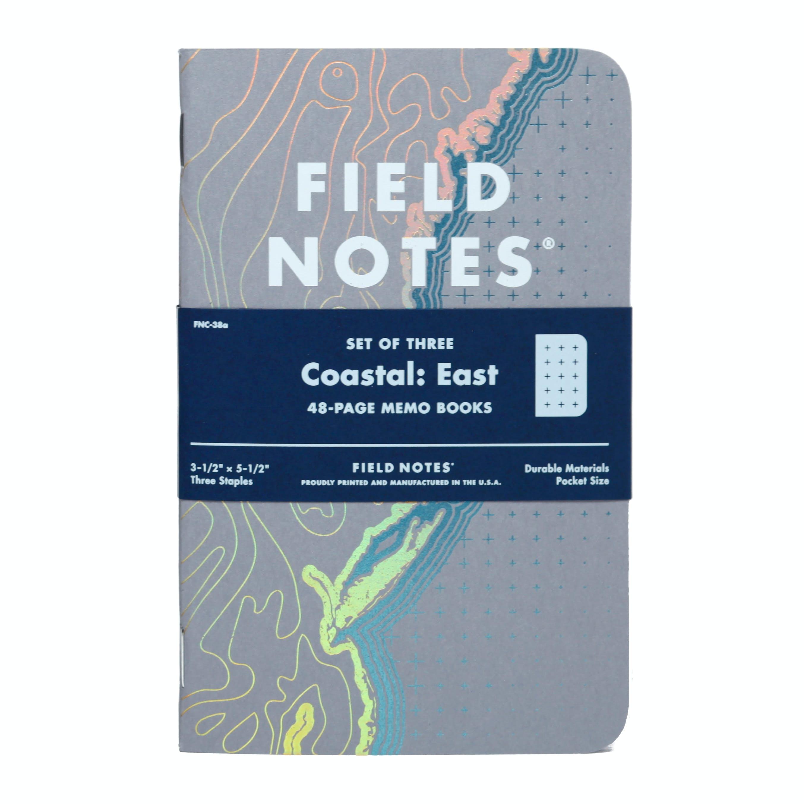Qas41aiftz field notes coastal east 3 pack limited edition 0 original