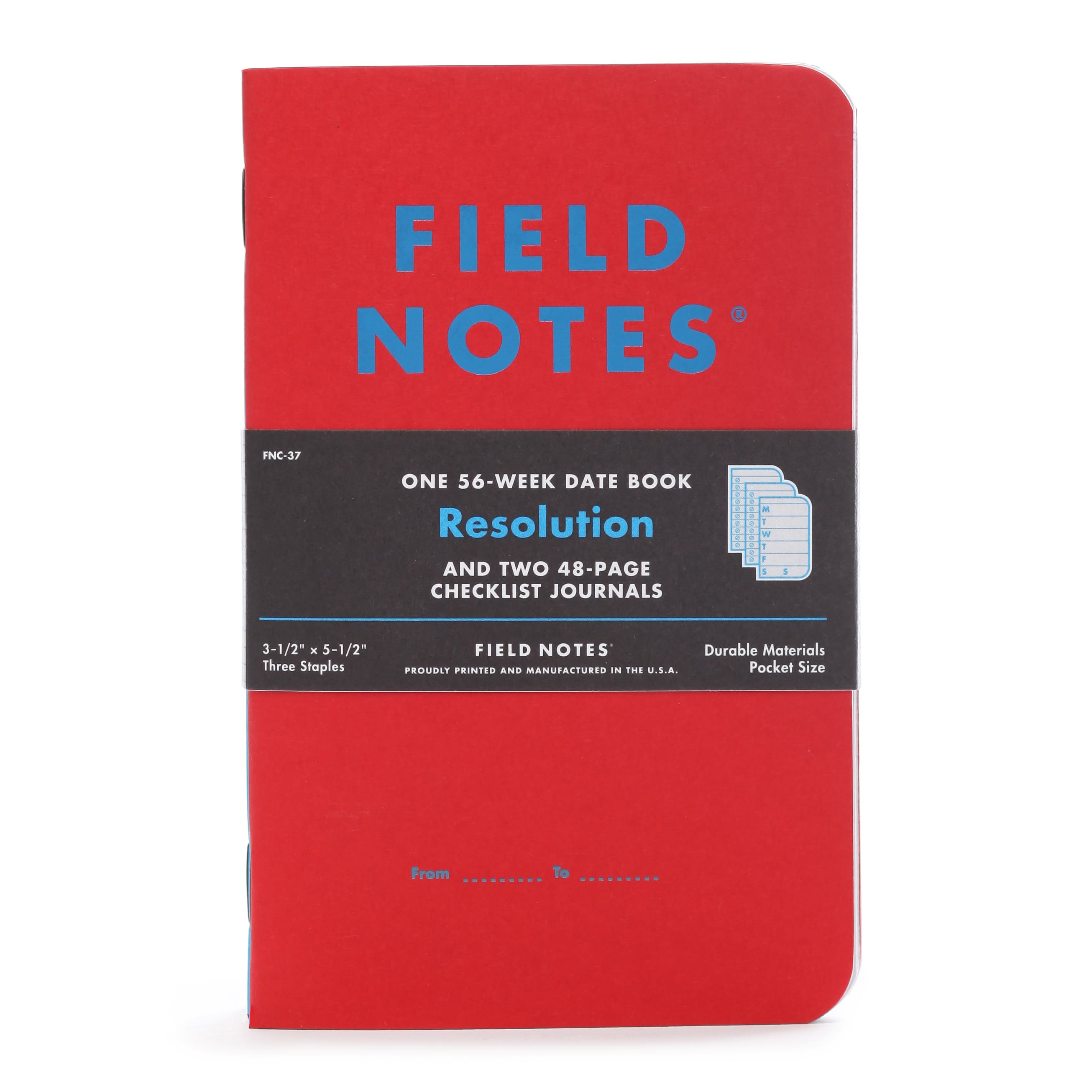 Wxsf2ids6w field notes new years resolution notebook set limited edition 0 original