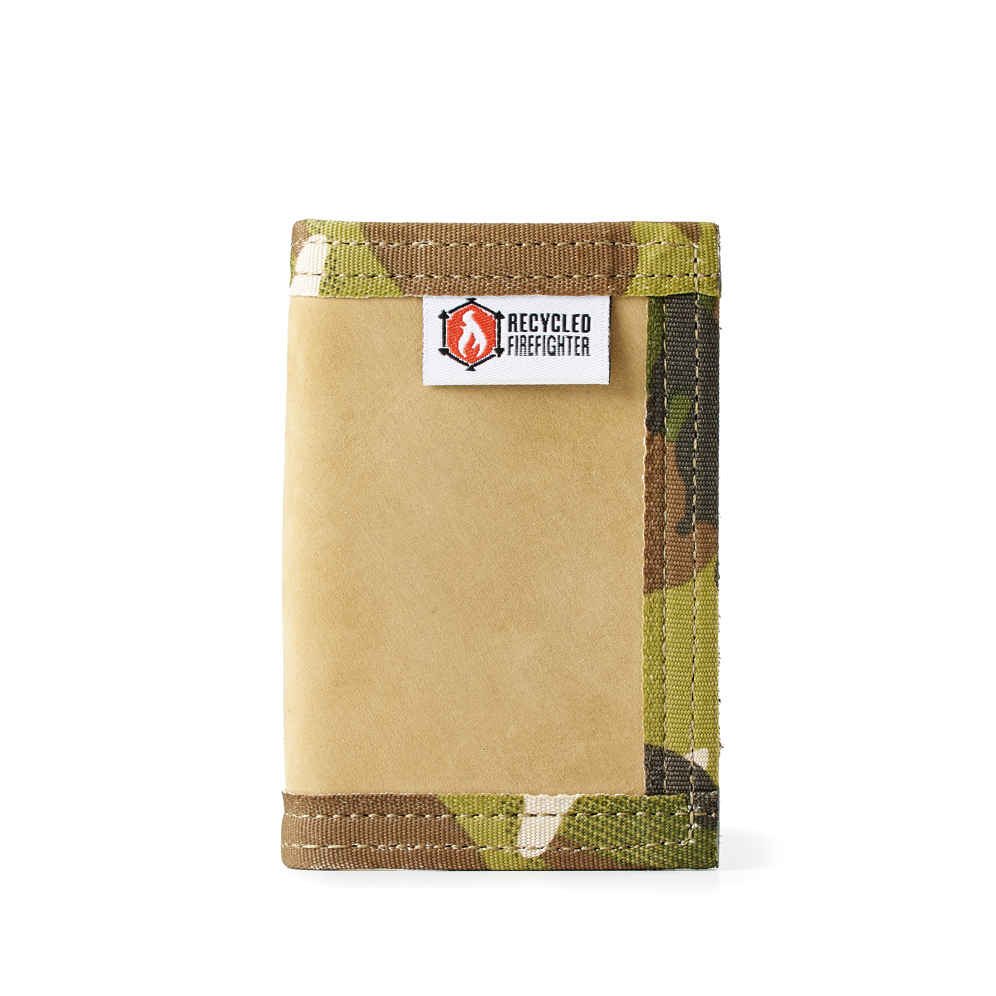 Recycled Firefighter The Leather Rookie - Front Pocket
