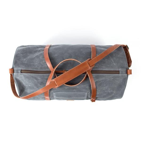 The Rambler Waxed Canvas Weekend Bag