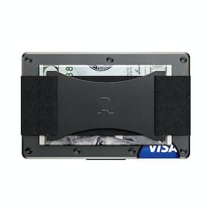Titanium Wallet + Cash Plate