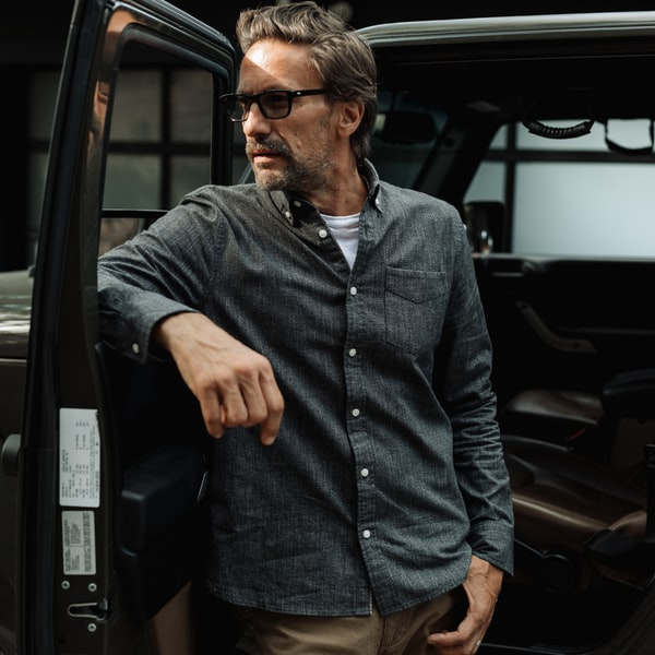 Flint and Tinder Selvage Architect's Shirt