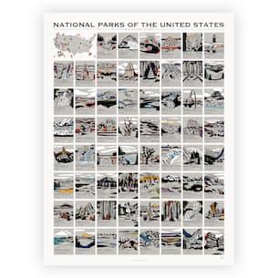National Parks Scratch Off