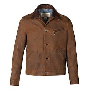 Nubuck Cowhide Mechanic's Jacket