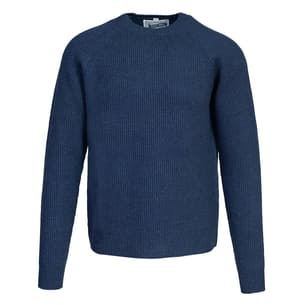 Ribbed Wool Crewneck Sweater