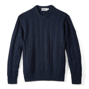 Seawool Fisherman Sweater