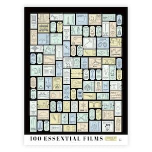 100 Essential Films Scratch Off
