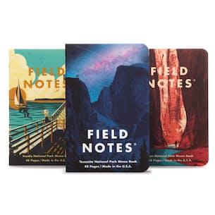 Yosemite, Zion + Acadia National Parks - 3 Pack