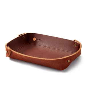 Basin Leather Catch-All