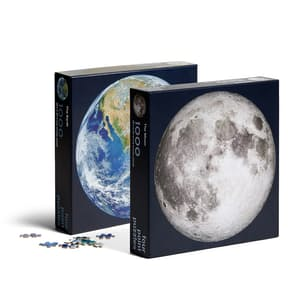 Moon + Earth - Puzzle Set