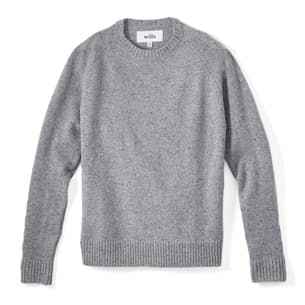 Speckled Merino Crewneck
