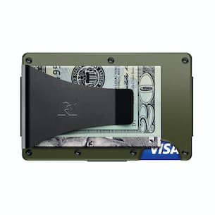 Aluminum Wallet + Money Clip